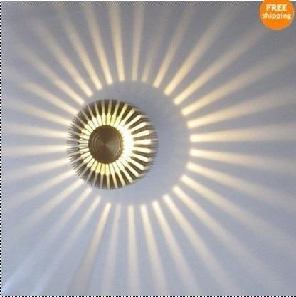 Fan Star LED Wall Light Sconces Decor Fixture Lights Lamp bulb Wall lights NEW(China)