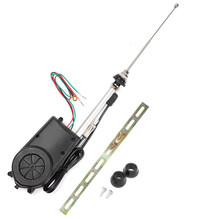 Car signal electric antenna Automatic telescopic radio Special accessories for car modification stainless steel 78CN