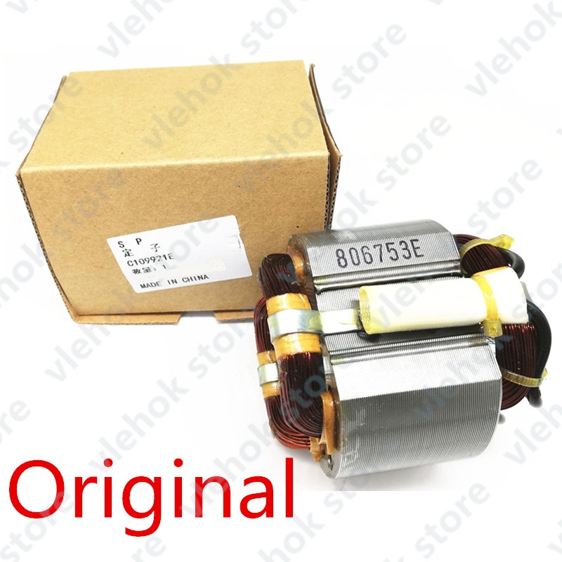 AC220-240V Stator Field 340753E For HITACHI DH38MS DH38SS Eletric Drill Hammer Tools Part Power Tool Accessories