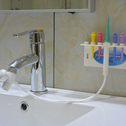 No Electric & Buttery Dental Care Implement Pressure Water Flosser Irrigation Hygiene Teeth Cleaning