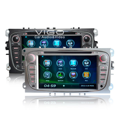 car stereo gps navigation for ford focus s max kuga mondeo. Black Bedroom Furniture Sets. Home Design Ideas