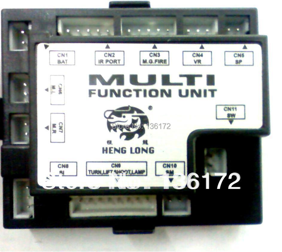 Henglong 3818-1  3819-1  3838-1 3839-1 3848-1 3849-1 1:16 1/16  RC smoking tank parts RX-18 main board / TK-18 receiver itlna3502 1