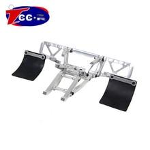 Metal Baja 5T/5SC CNC Alloy rear Bumper SET for1/5 HPI baja 5T Parts KM ROVAN