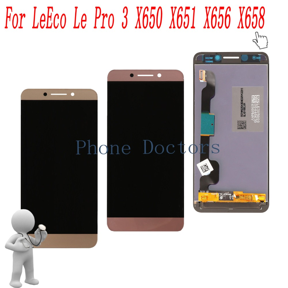 5.5'' New Full LCD DIsplay + Touch Screen Digitizer Assembly For LeTV LeEco Le3 <font><b>Le</b></font> 3 lePro3 AI X650 <font><b>X651</b></font> X656 X658 X659 X653 image
