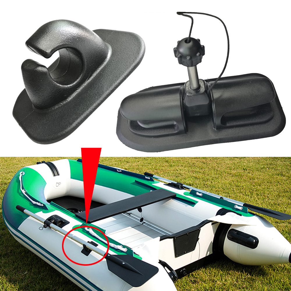 PVC Inflatable Boat Paddles Oars Lock Hook Mount Tie Off Patch Anchor Holder For Kayak Canoe Dinghy Rafting Sailing Accessories