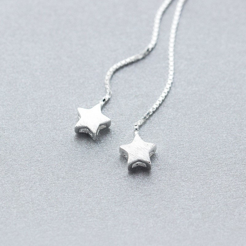 Drop-Earrings-for-Women-Solid-925-Sterling-Silver-Fine-Jewelry-Pull-Thread-Cutely-Lucky-Star-Threader (1)