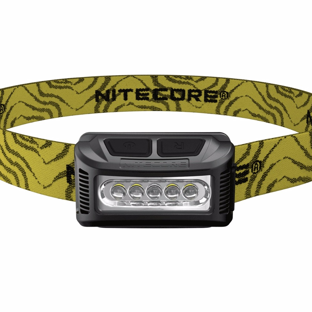NITECORE NU10 LED Flashlight LED Rechargeable Li-io Battery 160 Lumen for Camping Running Fishing Outdoor HeadLamp Flash Light fenix hp25r 1000 lumen headlamp rechargeable led flashlight