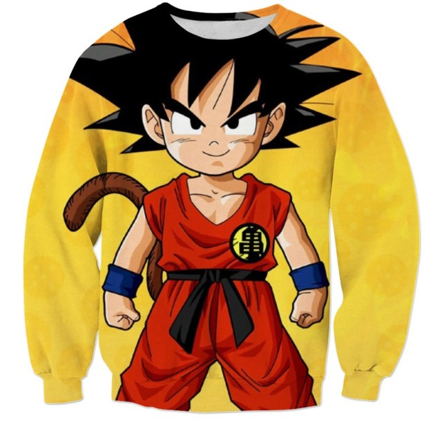 Dragon Ball SweatShirts (10 Models)
