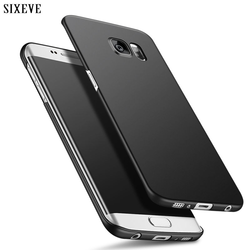Роскошный тонкий жесткий чехол для телефона Samsung S8 S9 Plus S6 S7 Edge A6 A8 J4 J6 J8 2018 A3 A5 A7 J3 J5 J7 Neo 2016 2017 матовый чехол Чехлы-накладки      АлиЭкспресс