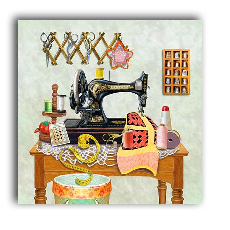 этот день картинки старинная швейная машинка и ножнички нашего интернет-магазина