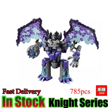 LEPIN 14036 785PCS Nexoe The Stone Colossus of Ultimate Destruction Nexus Knights Building Blocks Bricks figures