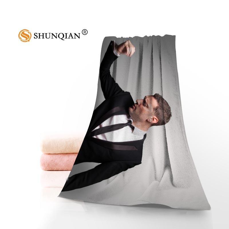 Custom michael buble Towels Microfiber Fabric Popular Face Towel/Bath Towel Size 35x75cm, 70x140cm Print your picture