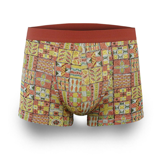 41e3065d14 Brand men Underwear Sexy Male Boxer Shorts U Convex Comfortable Breathable  Underpants Boxers Homme Printed Cueca
