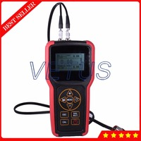 Upad X100 Portable Ultrasonic Gauge Thickness Meter with LCD Digital Tester Measuring Tool 0.75 500mm Range