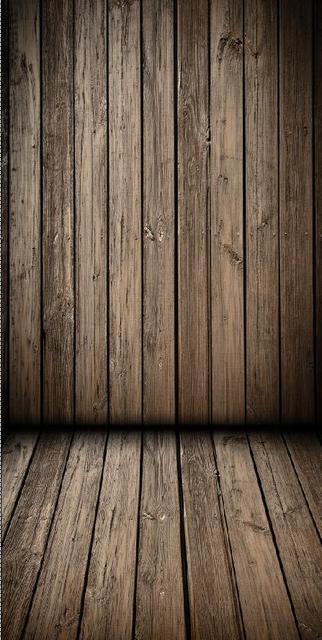 Huayi 5x10ft Wall 2m Floor 1m Vintage Wooden Backdrop Photography Backdrops Newborn Photo Studio Prop D 2492