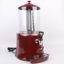 ITOP Commercial 10L Red Hot Chocolate Machine Electric Baine Marie Mixer chocofairy Coffee Milk Wine Tea Dispenser