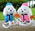 Novos Brinquedos Do Cão Eletrônico Cantando Alta Qualidade Andando animais de Estimação Eletrônicos Cão Robô Cão Brinquedos Interativos Para Crianças Presentes Brinquedos de Pelúcia