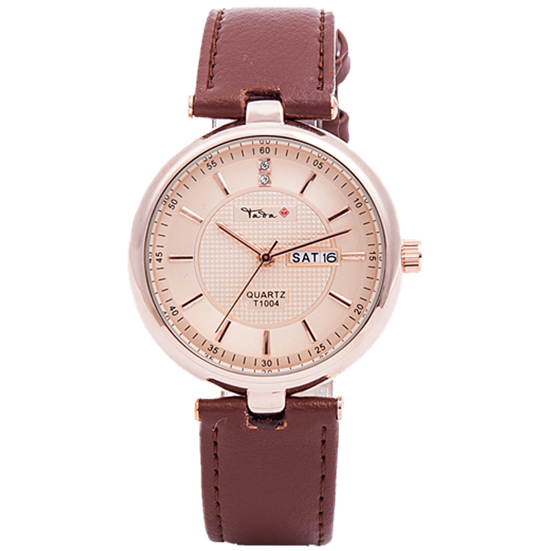 TADA brand high quality genuine leather strap 3ATM water proof watches ladies japan movt quartz date displaying women's relojs eyki h5018 high quality leak proof bottle w filter strap gray 400ml