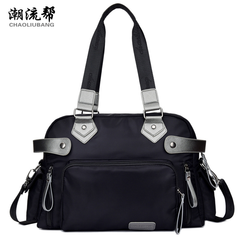 ФОТО Sky fantasy fashion nylon solid casual waterproof classic women shoulder bags vogue hipster cross-body youth girls Commuter tote