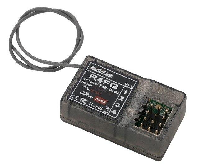 Radiolink FHSS R4FG 2.4G 4 Channel Radio Control System RC4GS RX Receiver F21425 рено сценик rx 4 в мурманске