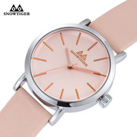 New Fashion Casual Women Men Quartz Wristwatch Ladies Big Simple Elegant Style Leather Strap Gift Watch