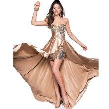 Вечернее платье, короткое спереди длинное сзади, элегантные вечерние платья для выпускного вечера, вечерние платья размера плюс, на заказ, robe de soiree