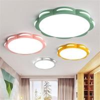 Luzes de Teto de controle remoto colorido lâmpadas Lâmpadas de Iluminação de Teto Para Sala de estar decoração Do Quarto Crianças sala de estudo Luminária|Luzes de teto| |  -