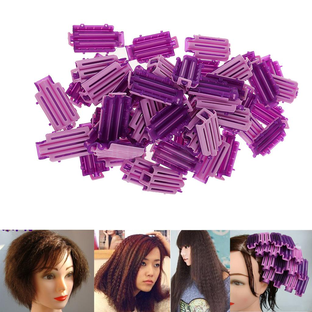 Lot Of 50 Reusable Cold Wave Perm Rod Corn Hair