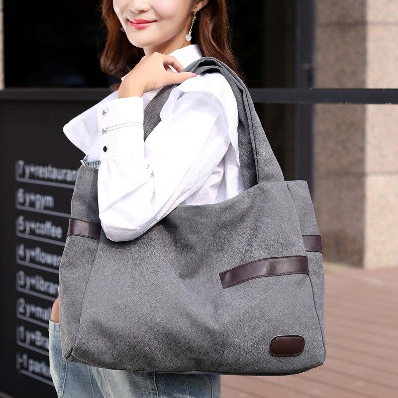 Chu JJ Hot Sale Canvas Women's Handbags Shoulder Bags Ladies Patchwork Bag Fashion Women Tote Bag Bolsas Feminina