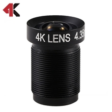 4K LENS 4.35MM GNDVI CVI Lens for GoPro/UAV Micro Cameras and DJI Phantom 3/4 Drone Mapping Fixed Newly Coming 2017