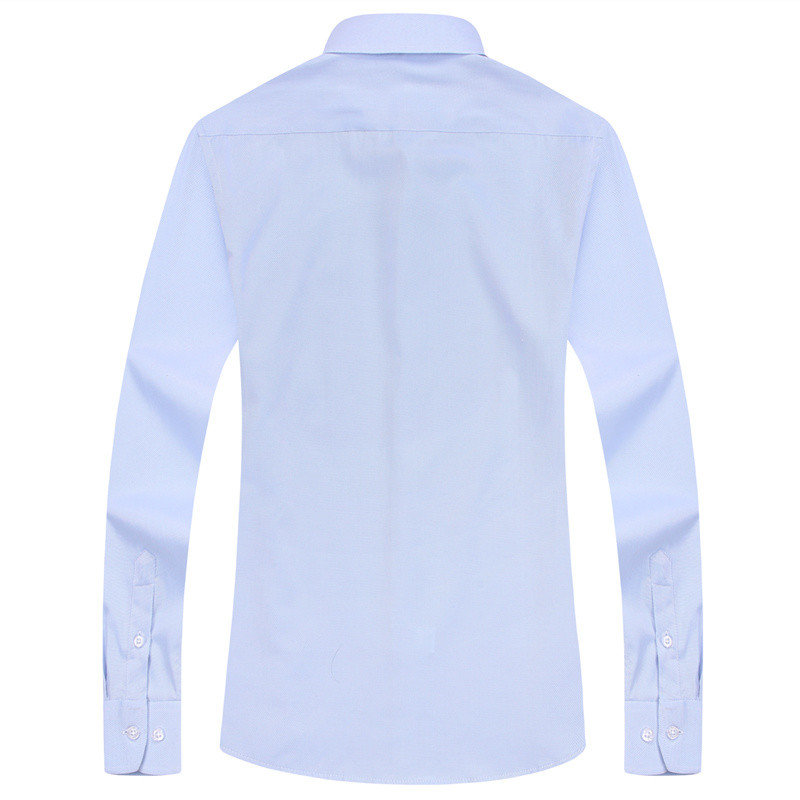 HTB1S8tGWirpK1RjSZFhq6xSdXXaZ - Large Size Men's Business Casual Long Sleeved Shirt White