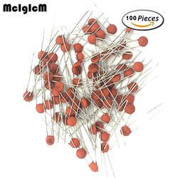 MCIGICM 100 шт 50 V Керамика конденсаторный систематизированный набор ассортимент набор от 1pF к 1nF 10nF 15nF 22nF 100nF