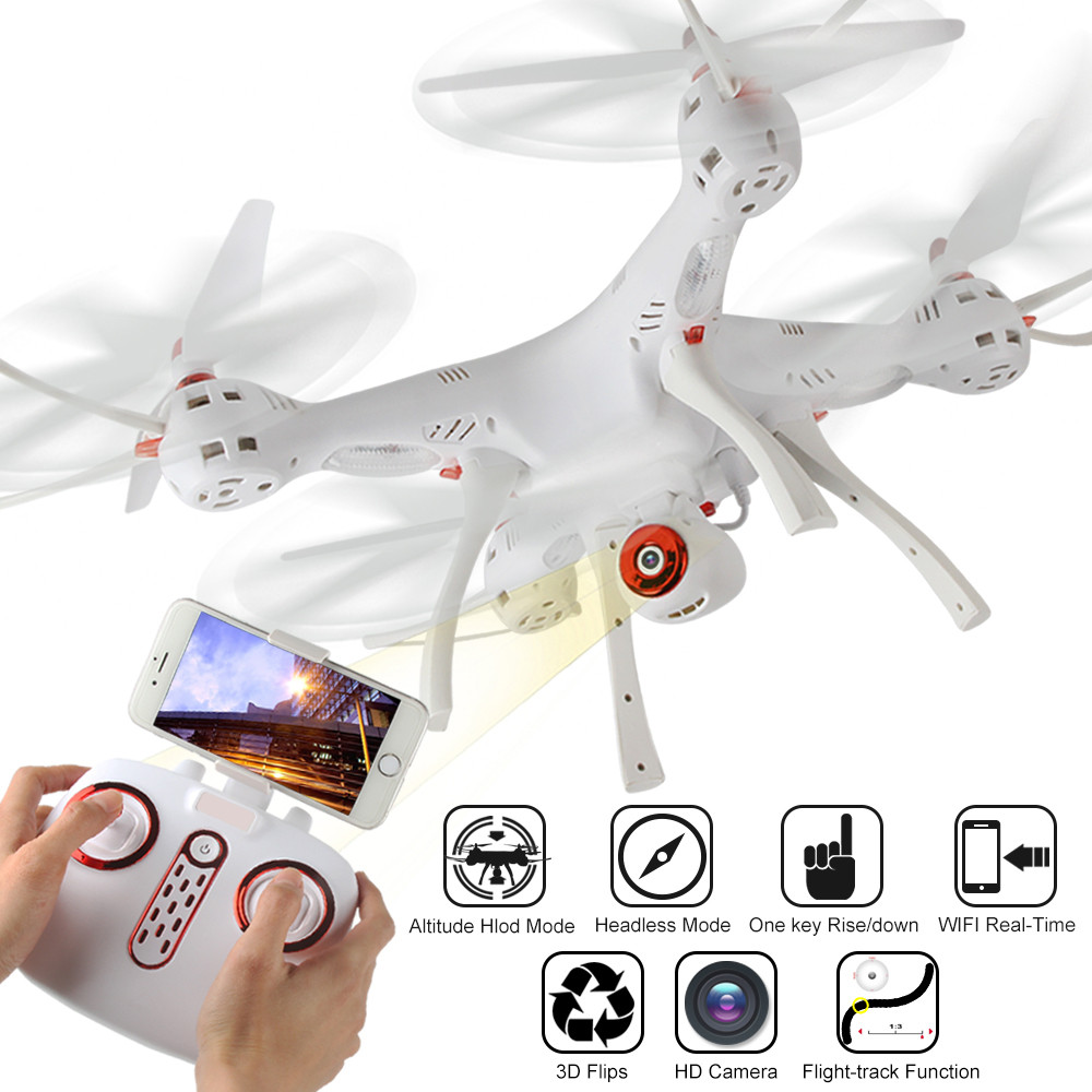 New RC Helicopter X8SW RTF WiFi FPV RC Quadcopter Droner 0.3MP Camera 2.4GHz 4CH 6-axis Gyro Dorp Shipping #0424