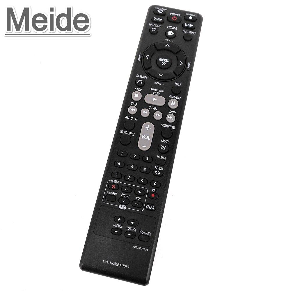Utiliza original genuina akb70877931 para lg dvd audio para el hogar de control
