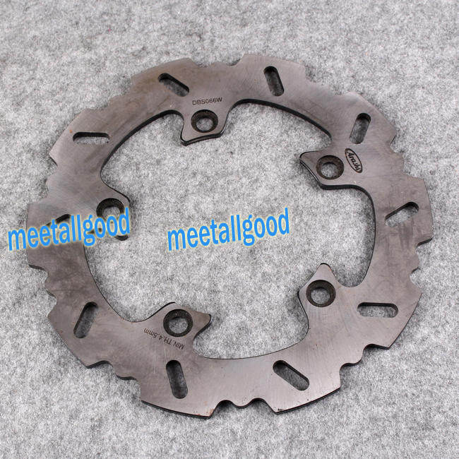 Motorcycle Rear Brake Disc Rotors Set For Suzuki GSR 400 600 GSF 650 1250 motorcycle rear brake disc rotors for suzuki gsx1300r 08 15 correspondence year universal