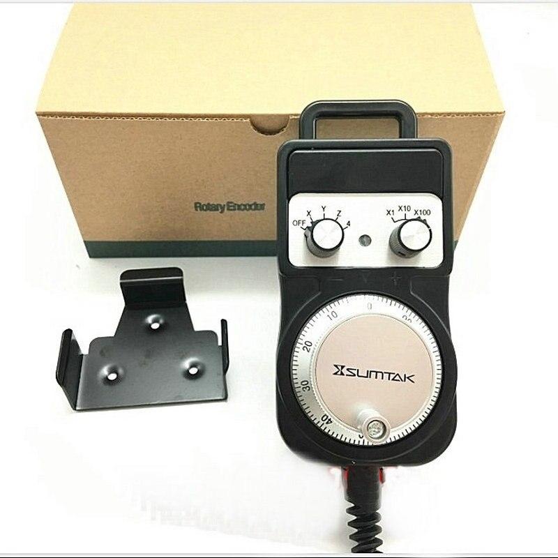 Nieuwe SUMTAK RT067 MK2 T hand wiel 4 as 100ppr MPG Manual Pulsgenerator IP65 - 2