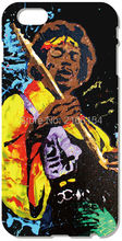 Jimi Hendrix cover For iphone 5 5S SE 5C 6 6S 7 Plus Touch 5 6 For Samsung Galaxy S3 S4 S5 Mini S6 S7 Edge Note 3 4 5 C5 Case(China)
