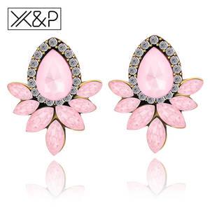 e7223d6c3d6 X&P Rhinestone Flower Girl Crystal Jewelry