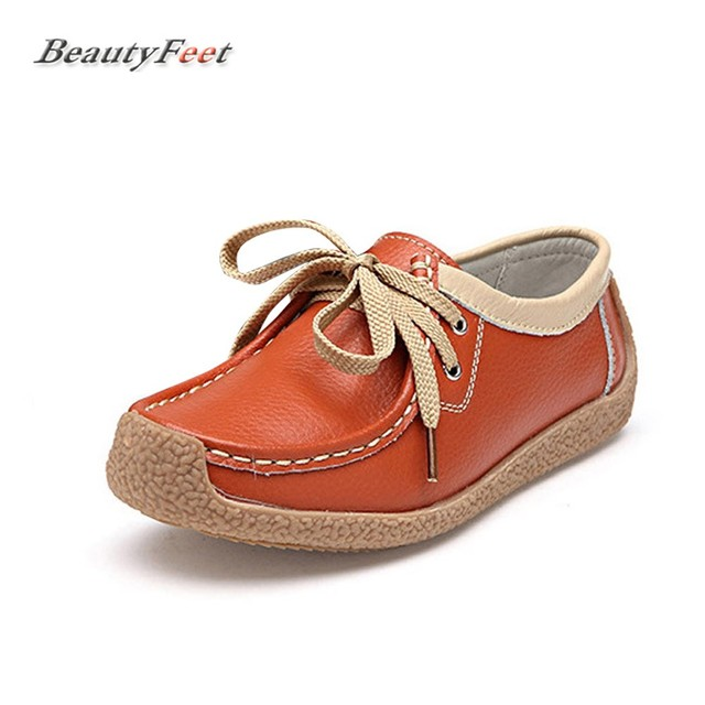 Chaussures orange Casual femme oZjN6w1K