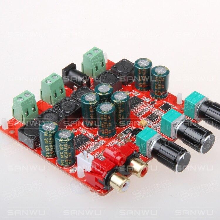 DC24V TPA3118 30 Вт + 30 Вт + 60 Вт 2,1 канальный цифровой усилитель мощности