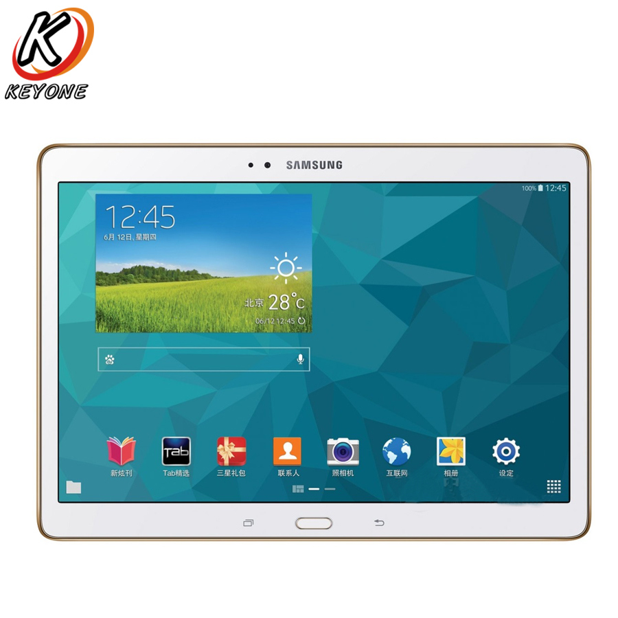 Original new Samsung GALAXY Tab S T805 4G+WIFI Tablet PC 10.5 inch 3GB RAM 16GB ROM 7900mAh Android Dual camera PC Tablet original samsung galaxy tab e t377t wifi 4g t mobile tablet pc 8 0 inch 1 5gb ram 16gb rom quad core android 5000mah dual camera
