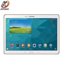 Original new Samsung GALAXY Tab S T805 4G+WIFI Tablet PC 10.5 inch 3GB RAM 16GB ROM 7900mAh Android Dual camera Call PC Tablet
