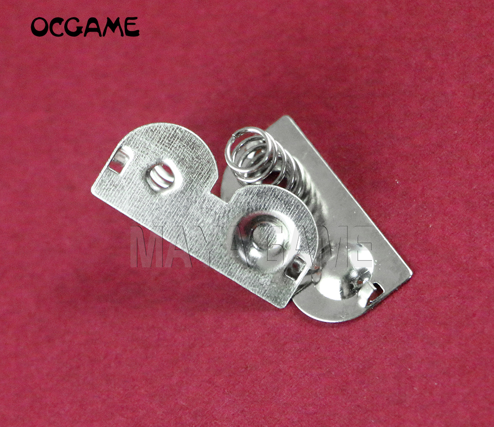 OCGAME 10pcs/lot for GameBoy Pocket for GBP Game Console Battery Terminals Contact Spring Battery Spring image