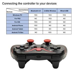 Image 5 - Terios T3 Wireless Joystick Gamepad Game Controller bluetooth BT3.0 Joystick For Mobile Phone Tablet TV Box Holder
