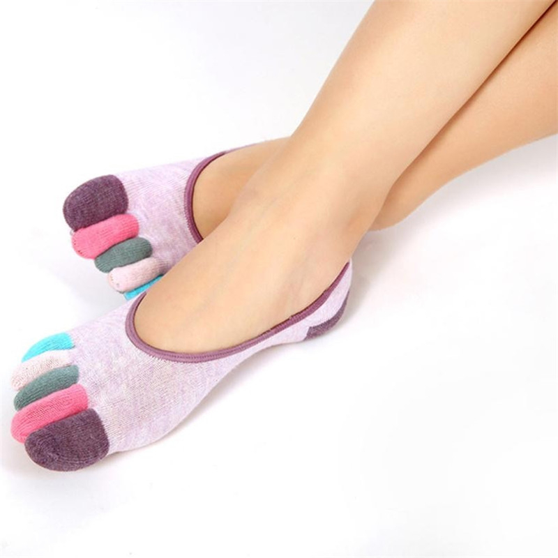 Fashion-New-Womens-Socks-5-Toe-Colorful-Cute-Non-Slip-Soft-Cotton-Blended-Ventilation-Massage-Toe (1)