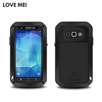 Original LOVEMEI Powerful Armour For Samsung Galaxy A8 A8000 Case With Tempered Glass Metal Silicone Outdoor