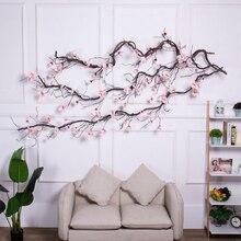 Arche de fleurs Magnolia, couronne de lierre, décorations de mariage, guirlande de fleurs artificielles, branches suspendues, mur