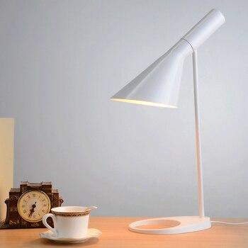 Replica Table lamp 5 colors for option  Europe AJ Desk Lamp Cafe Aisle Hall read Lamp LED bulb E27
