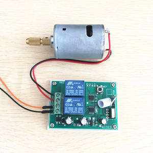 Image 4 - 433Mhz Wireless RF Switch DC12V Relay Receiver Module and 433 Mhz Remote Controls For DC Motor Forward and Reverse Controller