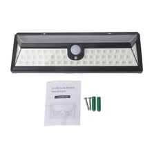 54 LED Solar Light Garden Light PIR Motion Sensor Pathway Wall Lamp 3.7V Waterproof Outdoor цена в Москве и Питере